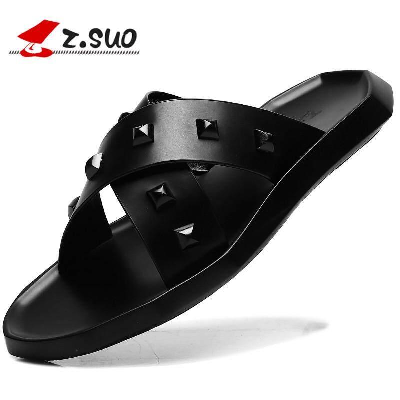 Zsuo Roman Laki Laki Musim Panas Korea Fashion Style Sandal Sepatu ... eb47a706cd