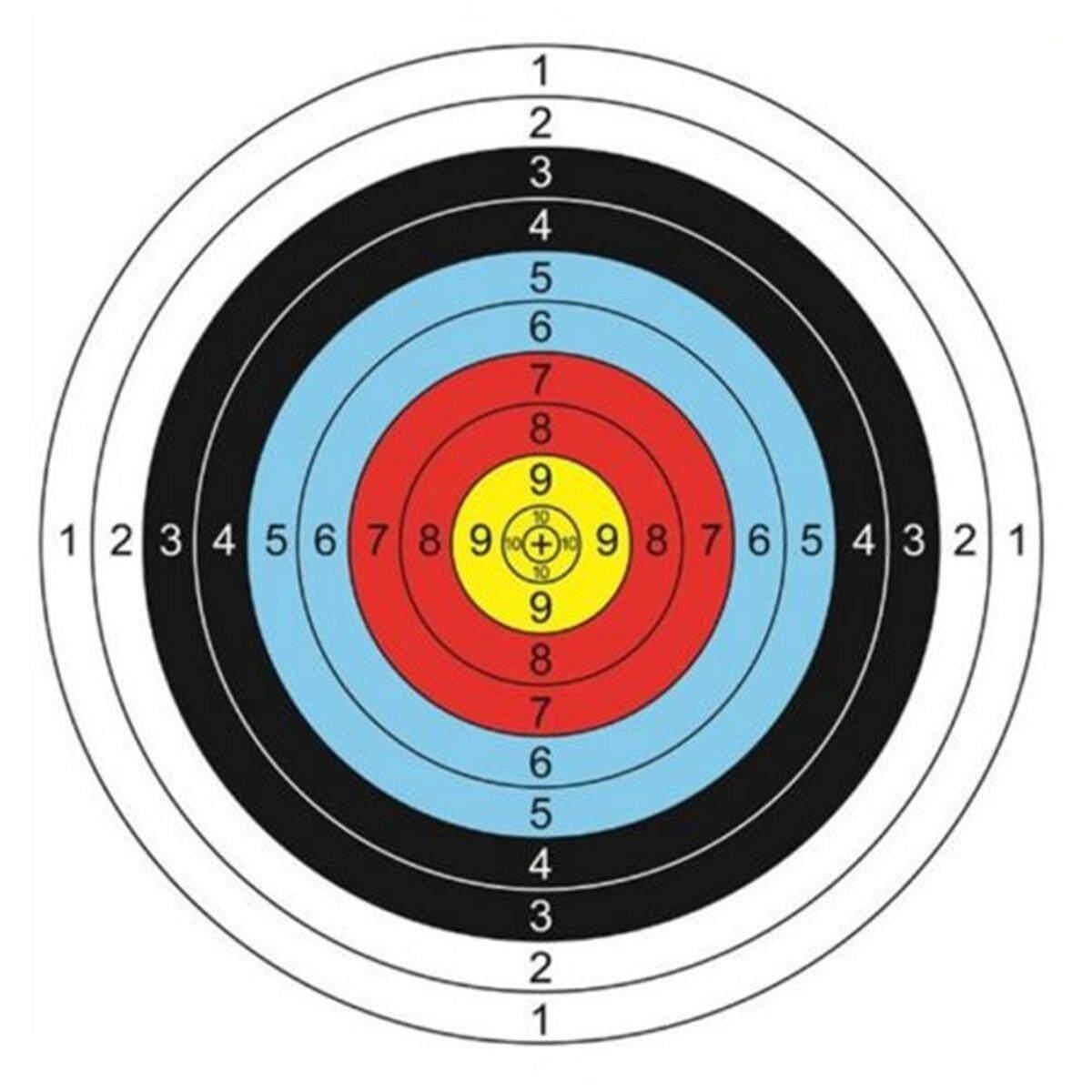 Hình ảnh 20PCS 40x40cm New Archery Target Faces Suitable For Bows Crossbows Heavy Gauge