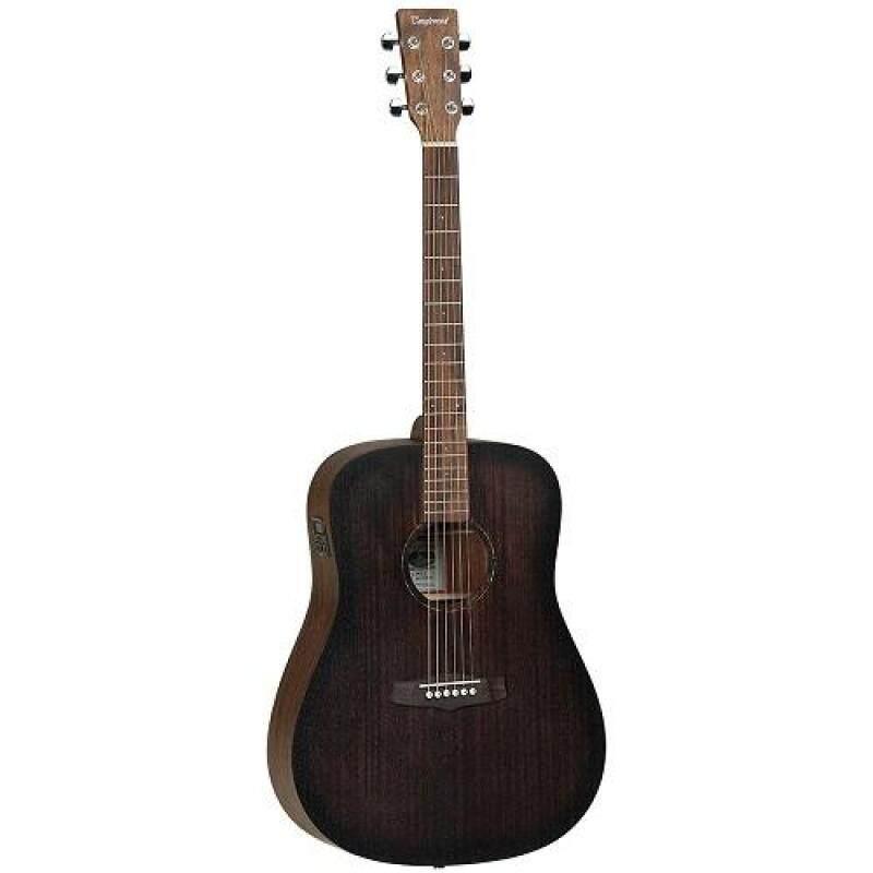 Tanglewood Semi Acoustic Guitar TWCR DE, Dreadnought , Vintage Satin Finish + TEQ 3BT EQ Malaysia