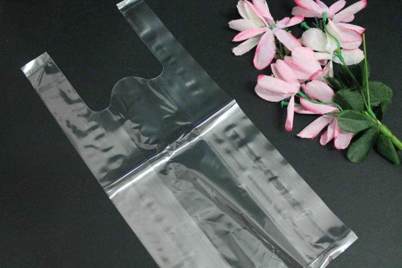 """22 pcs Clear Carrier Bag 18""""X20"""" for Gift, Food, Grocery, Cosmetic (Clear)"""
