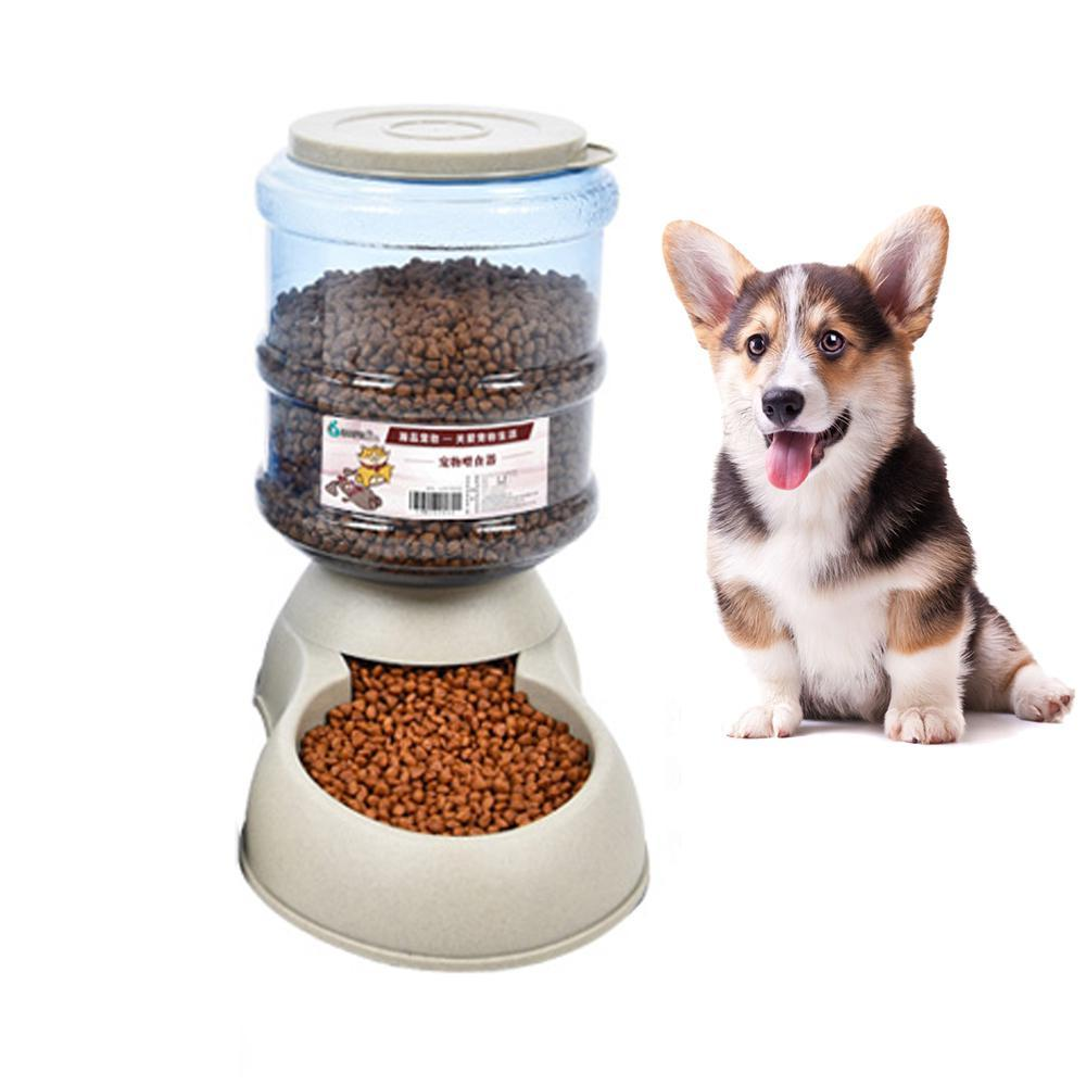 Niceeshop Pet Feeder Food Dispenser Station - Replenish Pet Food For Dog Cat Animal Automatic Gravity Dry Food Storage - Intl By Nicee Shop.