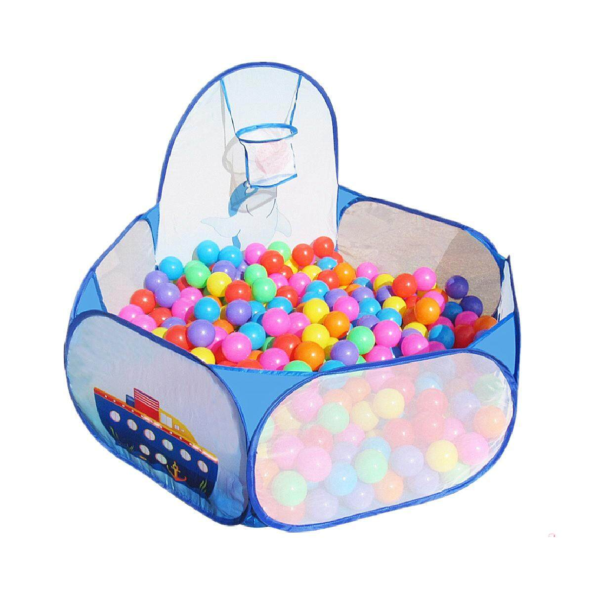 Hình ảnh Portable Kids Child Ball Pit Pool Play Tent for Baby Indoor Outdoor Game Toy New