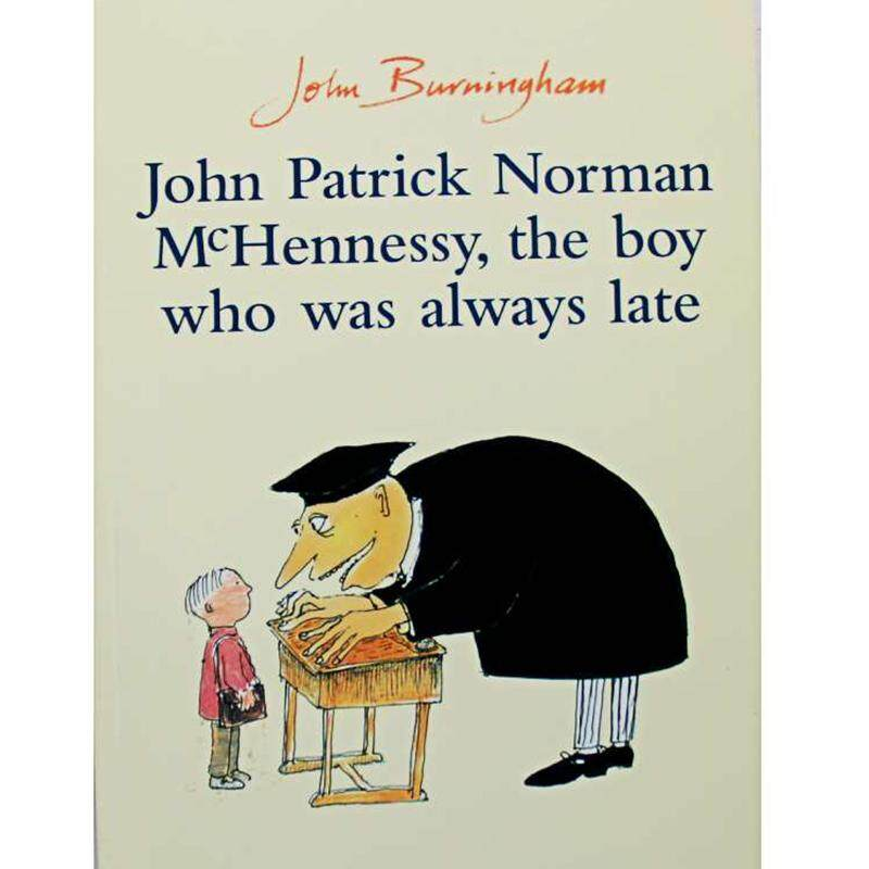 John Patrick Norman McHennessy,the Boy Who Was Always Late Educational Educational English Picture Book Learning Card Story Book