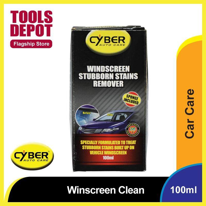 Cyber Windscreen Stubborn Stains Remover (100g)