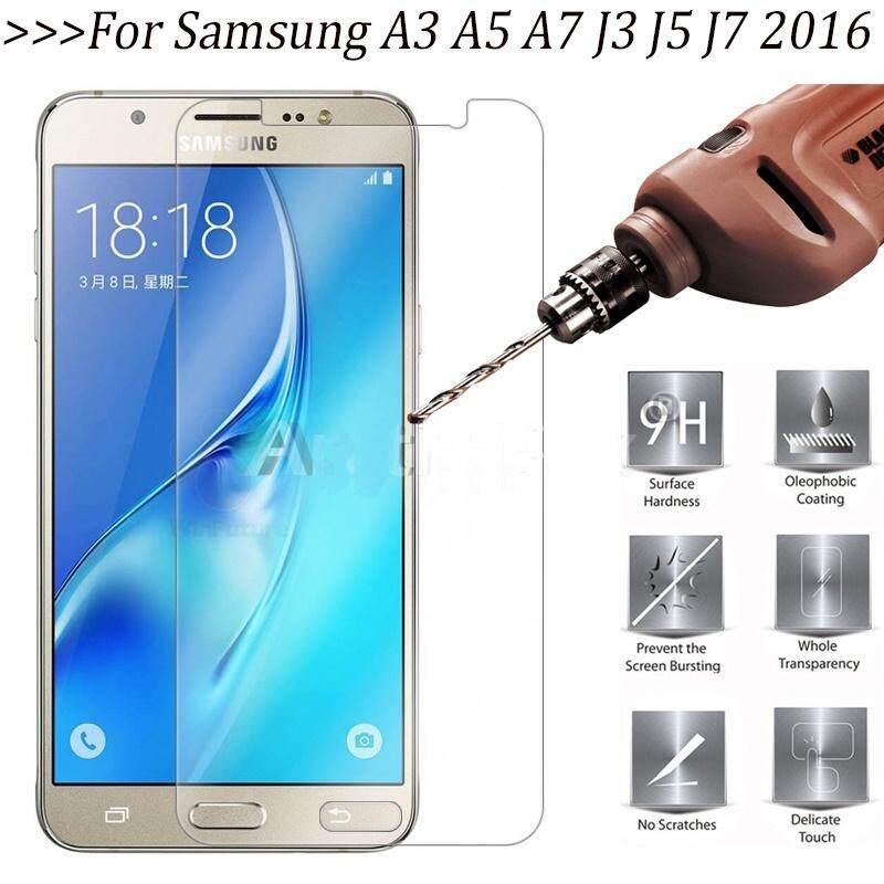 Premium Kaca Kokoh untuk Ponsel Pelindung Layar Kuat Lapisan Pelindung Fundas untuk Samsung A3 A5 A7 2016 2017 J3 J5 J7 2016 Perdana () (XiaoMi Redmi Note)-Intl