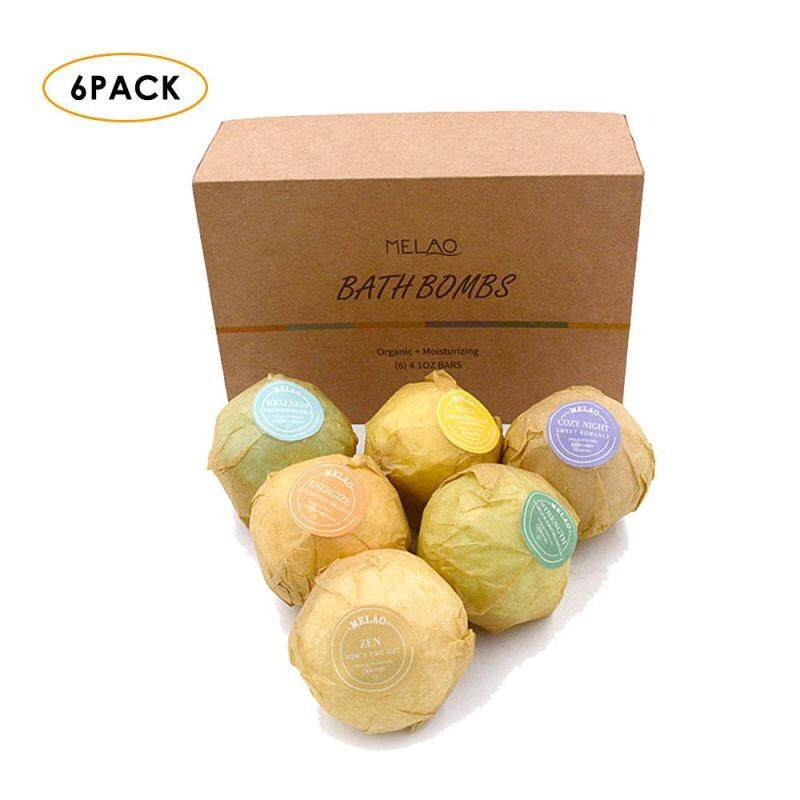 Buy Womdee [60g/6 Pack]Bath Bombs Gift Set, FirstFly 6PCS Organic Bubble Bath Salts Ball Handmade Spa Bomb Fizzies With Essential Oils For Aromatherapy, Relaxation, Moisturizing (Multicolor) - intl Singapore