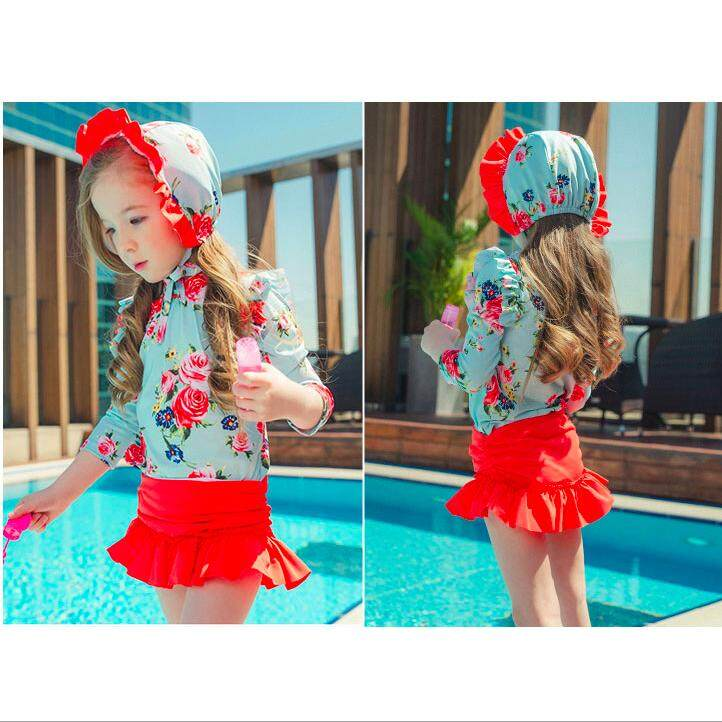 b736acd40 Two Piece for Girls for sale - Girls Two-Piece Swimwear online ...