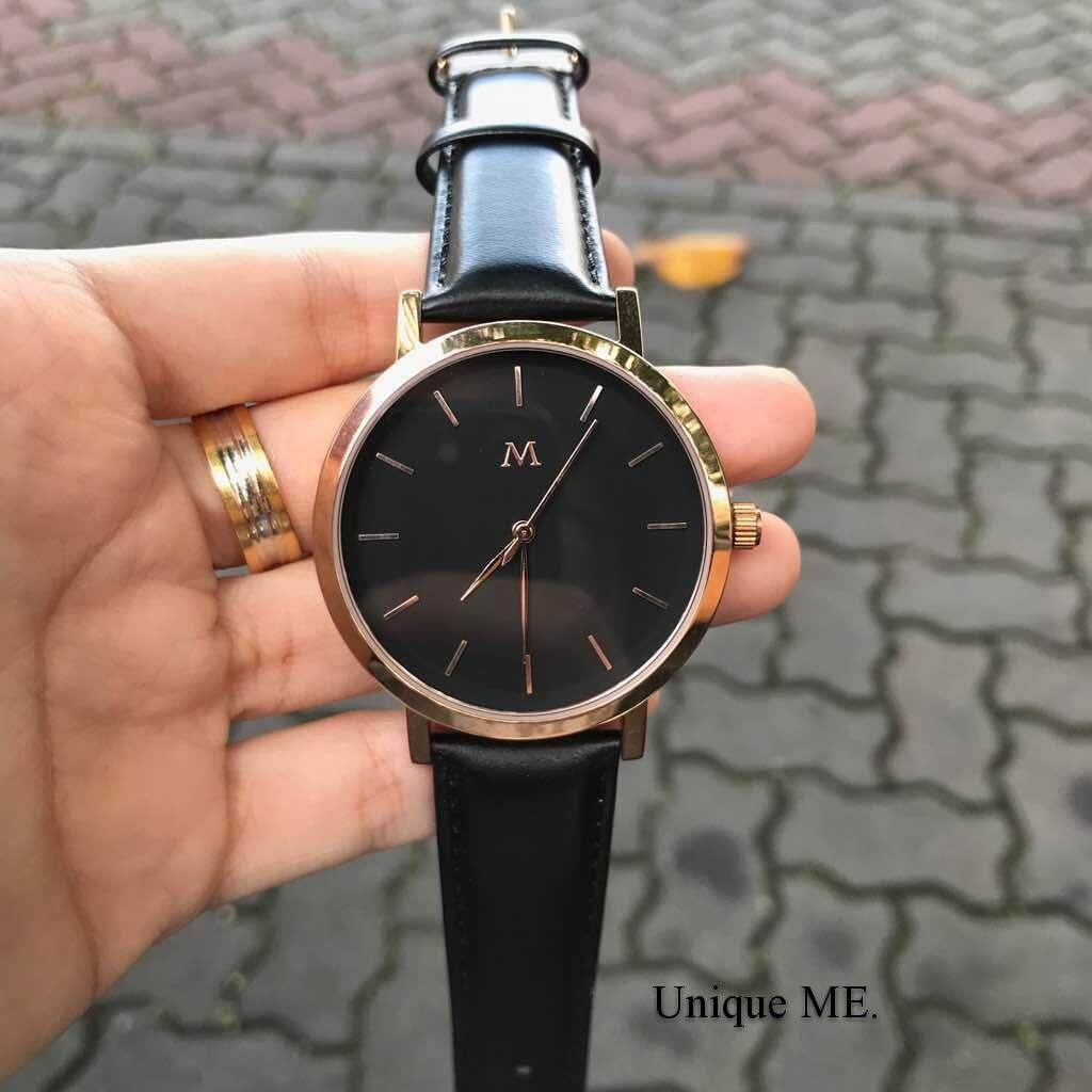 Unique Watches Maveric The Golden Alfa 42mm (Black) Malaysia
