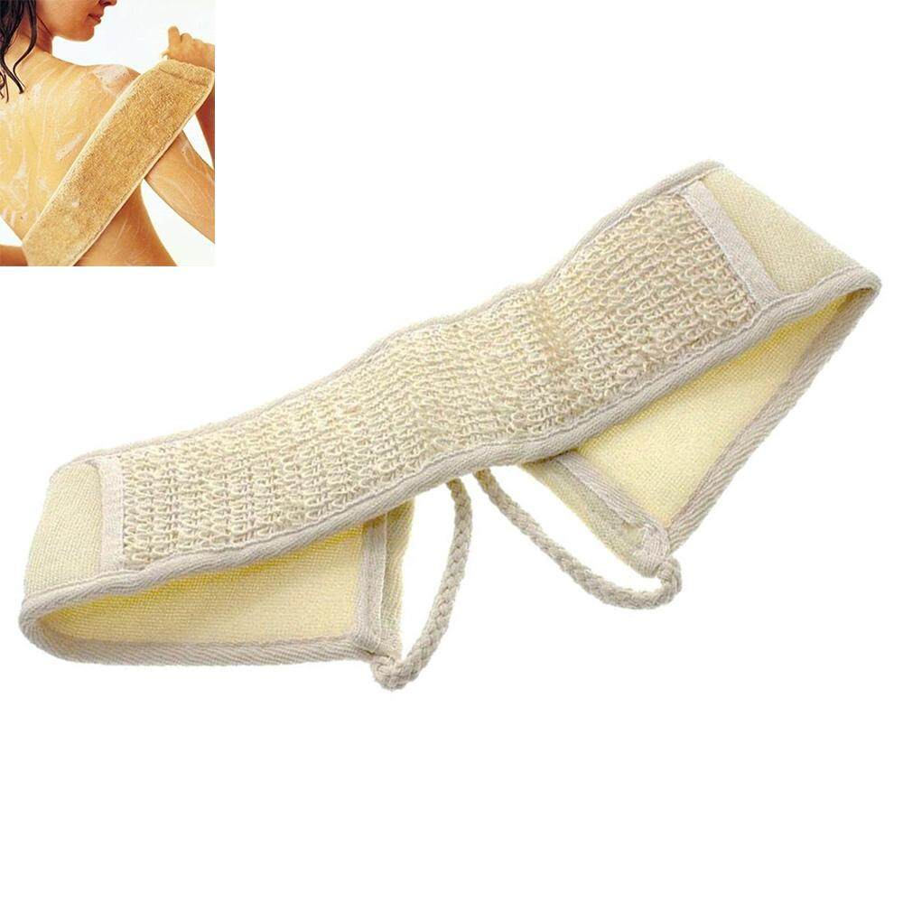 Exfoliating Loofah Loofa Back Strap Bath Shower Body Scrubber Brush Sponge Loofah Back Strap Exfoliating Body Bath Shower Back Sponge Brush Scrubber