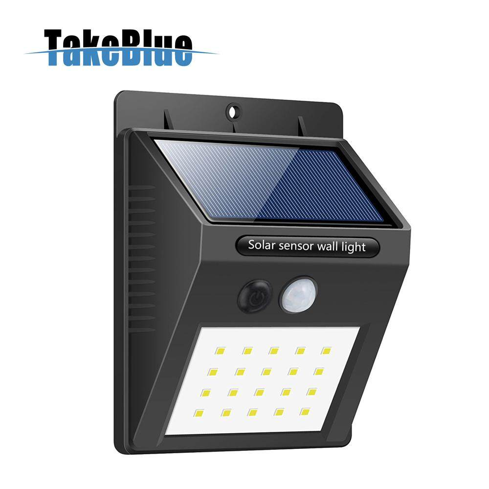 Home outdoor lighting buy home outdoor lighting at best price in takeblue 20 led solar lights outdoor 3 intelligent modes waterproof solar powered motion sensor aloadofball