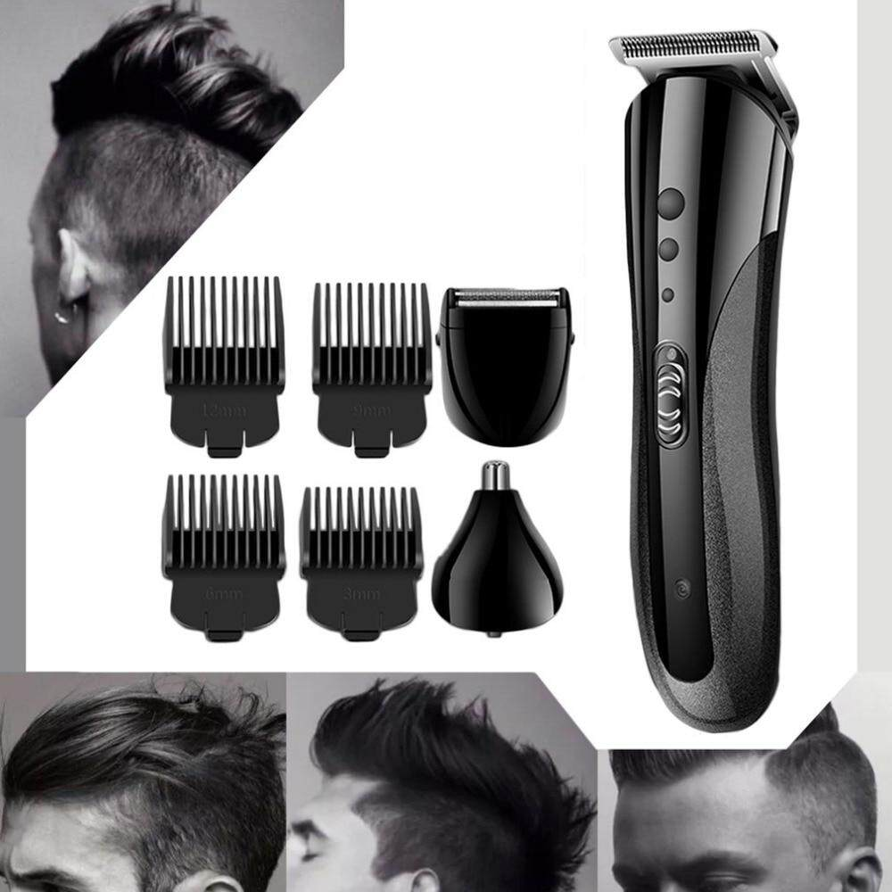 ... KEMEI KM-1407 Multifunctional Hair Trimmer Rechargeable Electric Nose Hair  Clipper Professional Electric Beard Shaver ... fa28ed4971