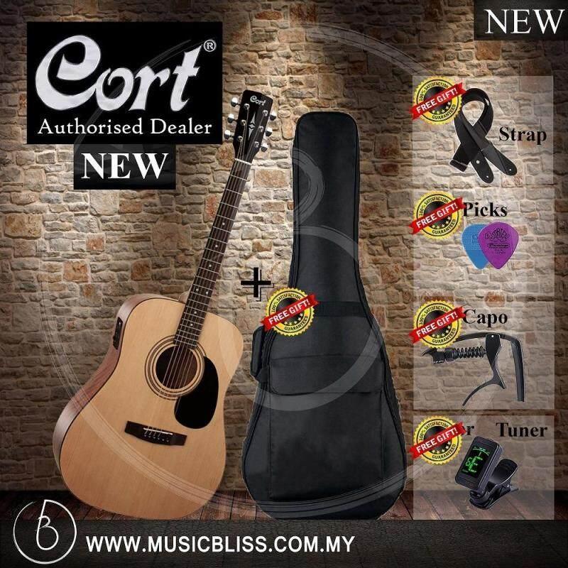 Cort AD810E Acoustic-Electric Guitar (Open Pore) Malaysia
