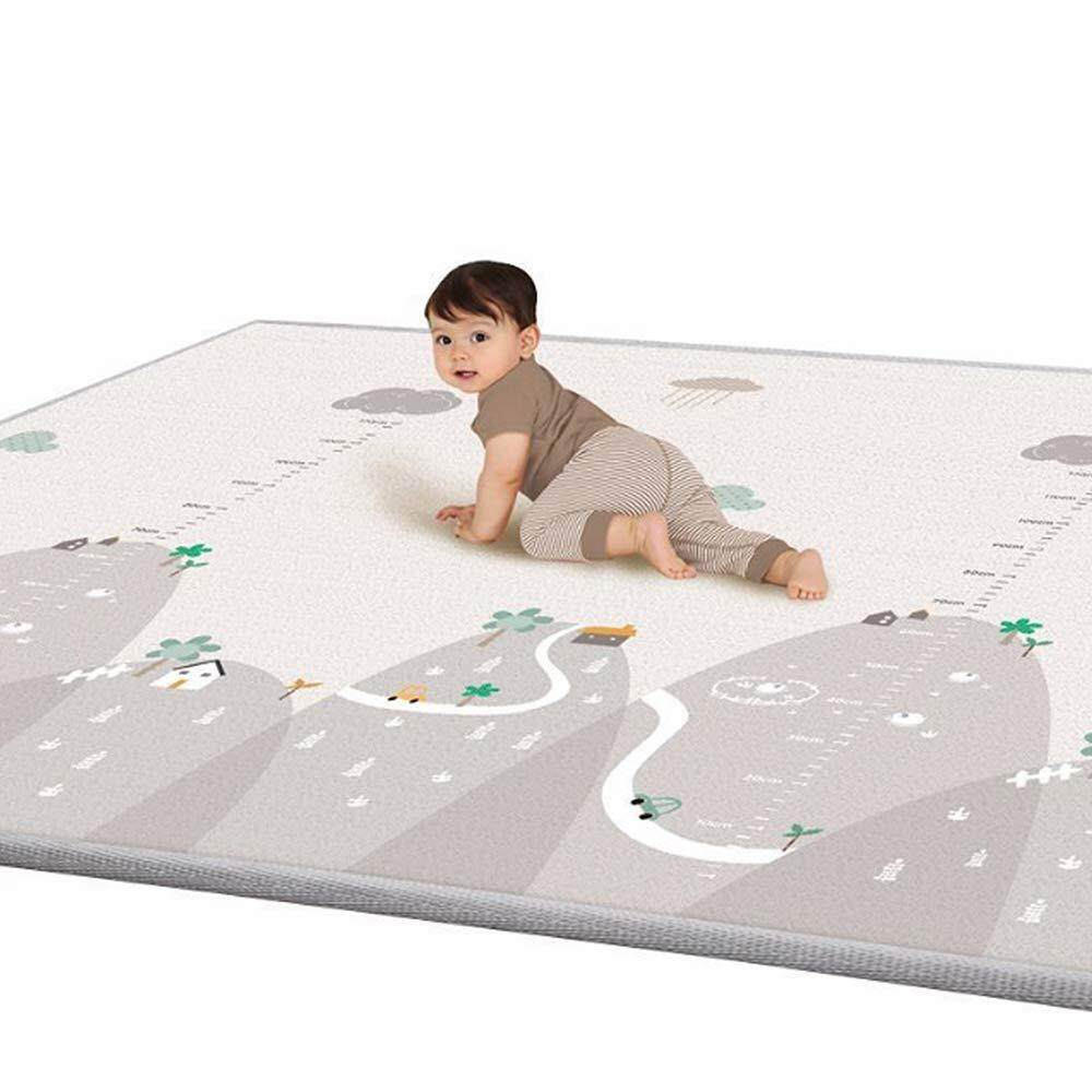 Childrens Cute Cartoon Cotton Crawling Mat Game Mat Round Carpet Childrens Room Decorations Baby Development Activity Cusion Mother & Kids