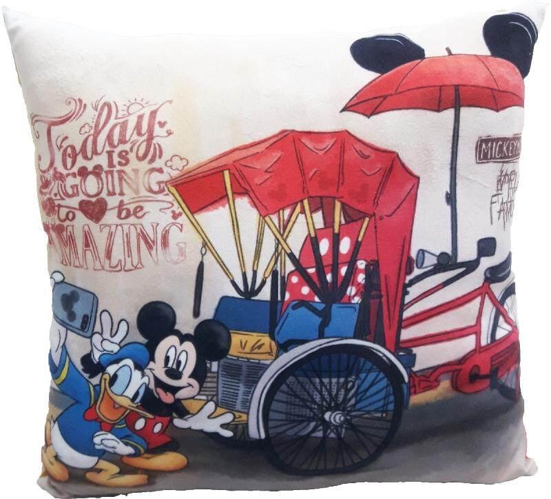 Disney Go Local X Disney Mickey Donald Duck Cushion - Malaysia Iconic Beca