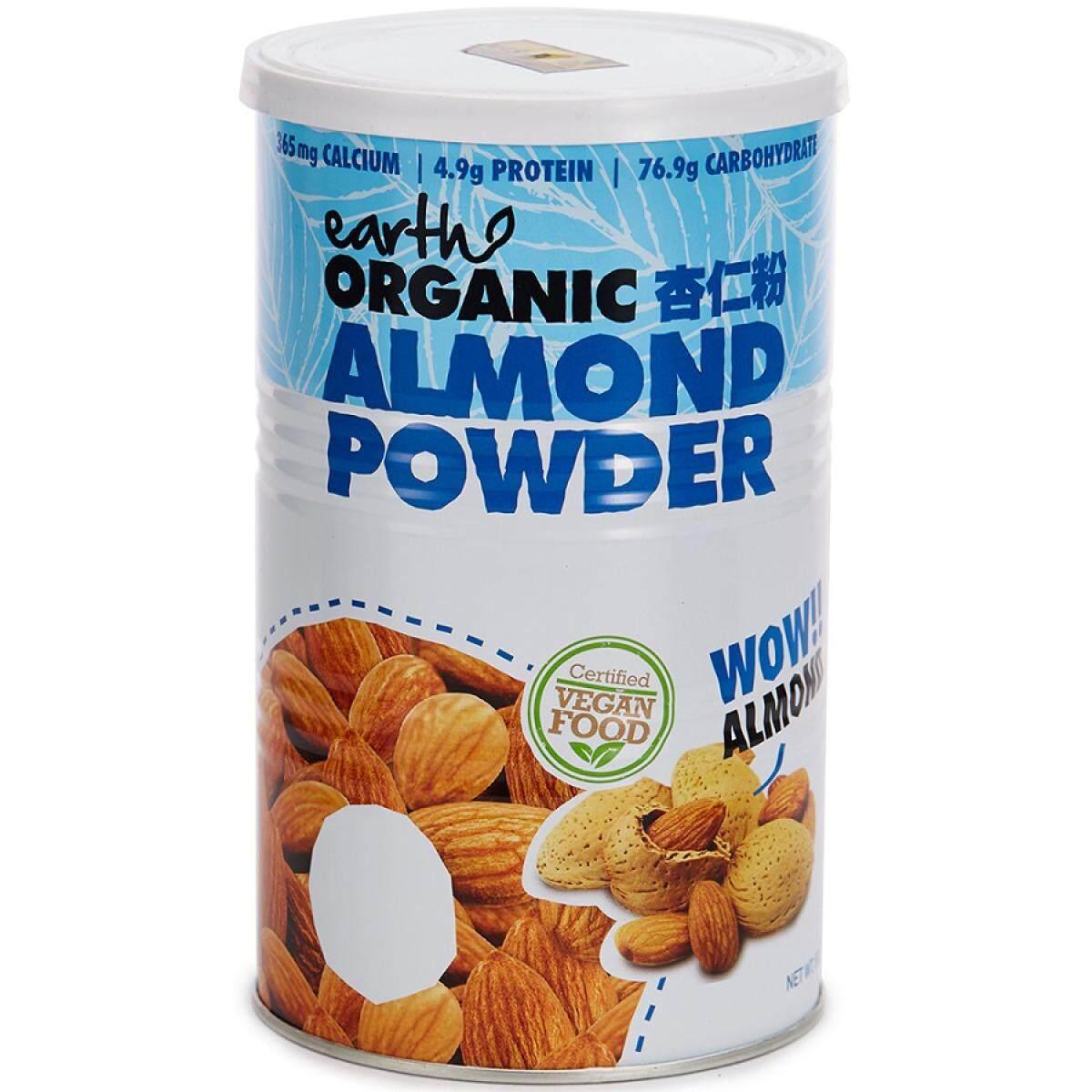 Earth Living - Organic Almond Powder 500G, Aus
