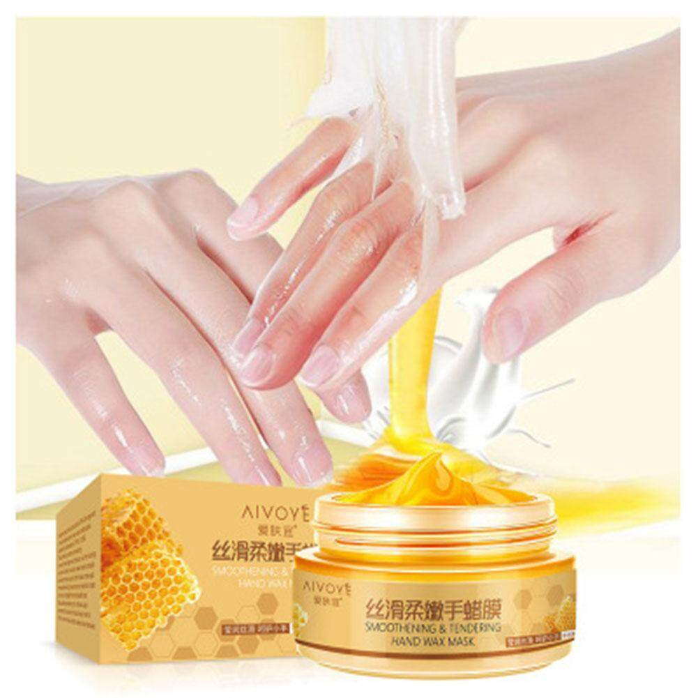 Redcolourful Milk Honey Peel Off Paraffin Wax Hand Mask Moisturizing Whitening Exfoliating Calluses Remove Hand Care Cream tốt nhất