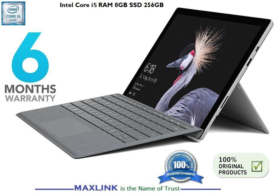 Microsoft Surface Pro 3 Intel Core i5 256 GB 8GB RAM With KEYBOARD (REFURBISHED) (6 MONTH WARRANTY) Malaysia