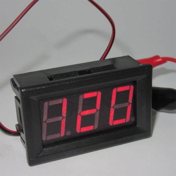 Bảng giá AC 220V Đồng Hồ Đo Điện Áp 2 Dây Đầu LED Vôn Kế Kỹ Thuật Số Vôn Kế Vôn Kế Có Bảo Vệ Phân Cực Ngược