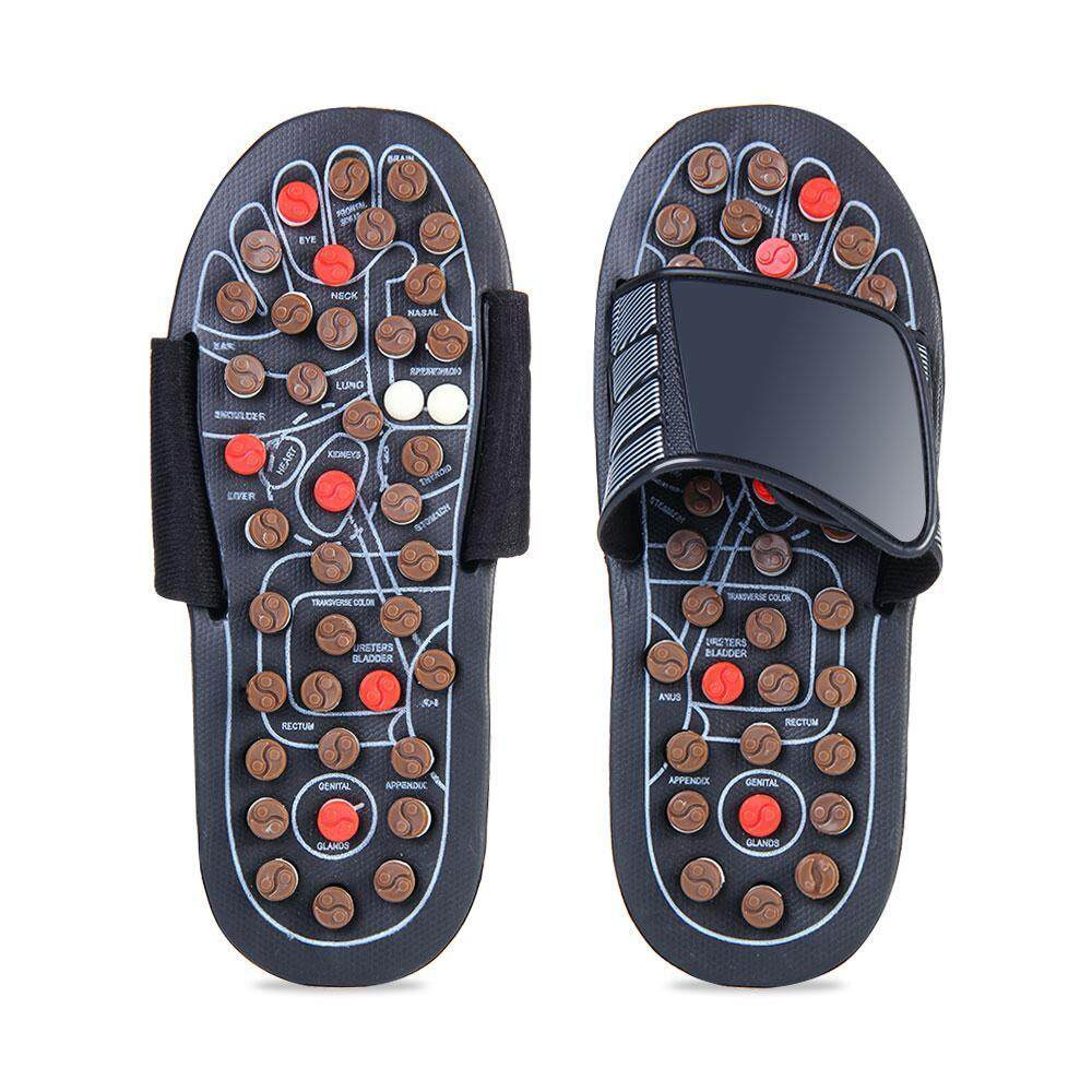 Kobwa Acupressure Massage Slippers, Foot Acupoint Massager Shoes, Reflexology Sandals With 78 Rotary Massage Therapy Ball And Adjustable Strap, Fight Against Plantar Fasciitis Health Shoes By Kobwa Direct.