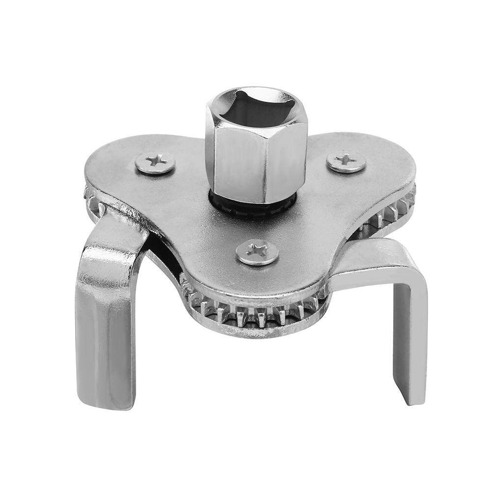 Hình ảnh Machine Oil Fuel Filter Wrench Flat Jaw Oil Grid Removal Tool with Adapter Accessories - intl