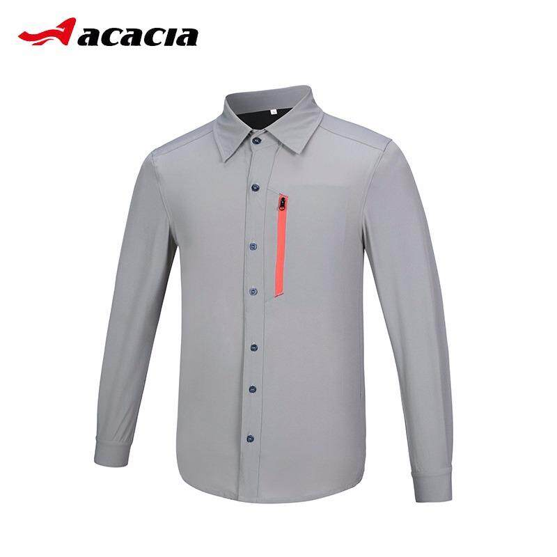 c8c1e097fb9f ACACIA Cycling Jerseys Spring Summer Men Bicycle Bike Full Sleeve Shirt  Anti-Wrinkle Breathable Cycling