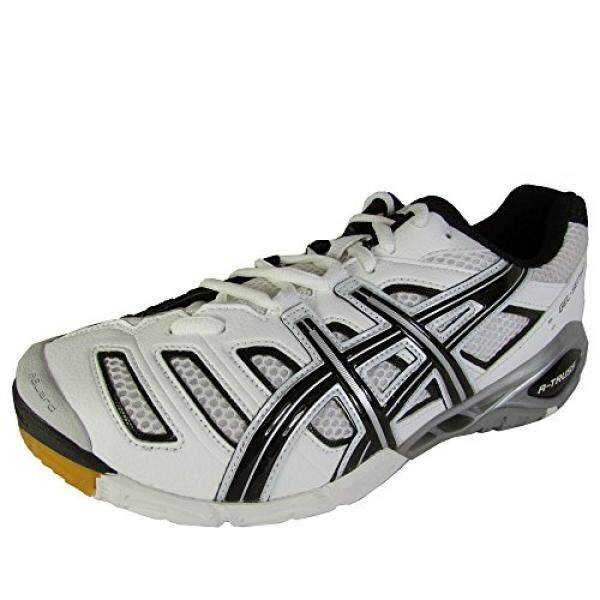 ASICS Womens GEL-GEL-Sensei 4 Volleyball Shoe,White/Black/Silver, US / From USA