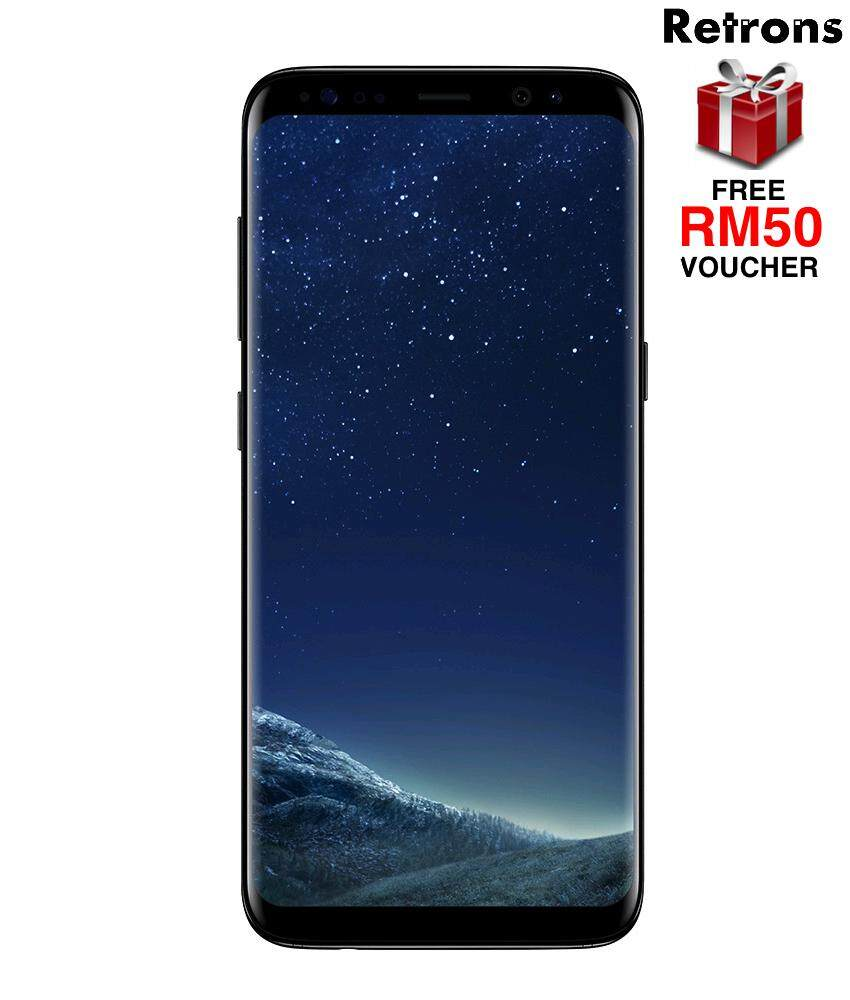 [Retrons Quality] Samsung Galaxy S8 64GB G950 BLACK (Refurbished)