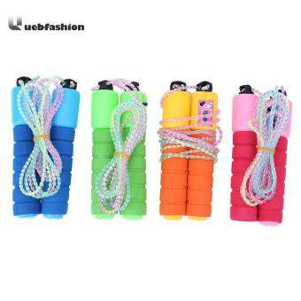 Giá ưu đãi Outdoor Skipping Rope Adjustable Cord Speed Fitness Aerobic Cotton Sponge Count Sporting Jumping Exercise Equipment Jump Rope so sánh