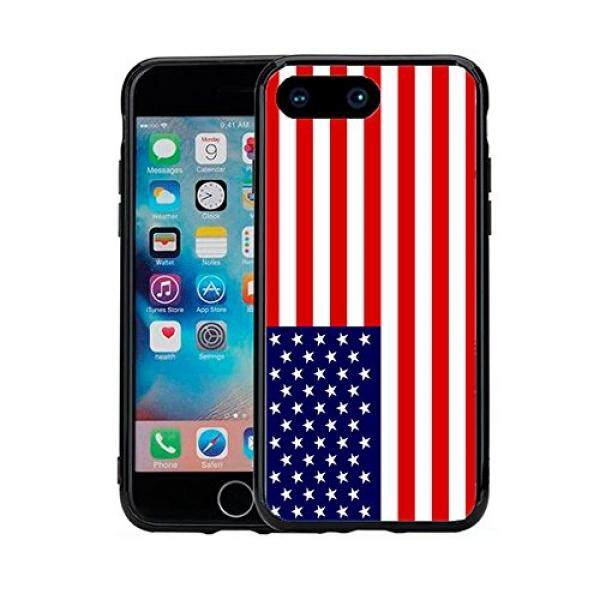 Smartphone Cases American USA Flag For Iphone 7 Plus (2016) & Iphone 8 Plus (2017) (5.5) Case Cover By Atomic Market - intl