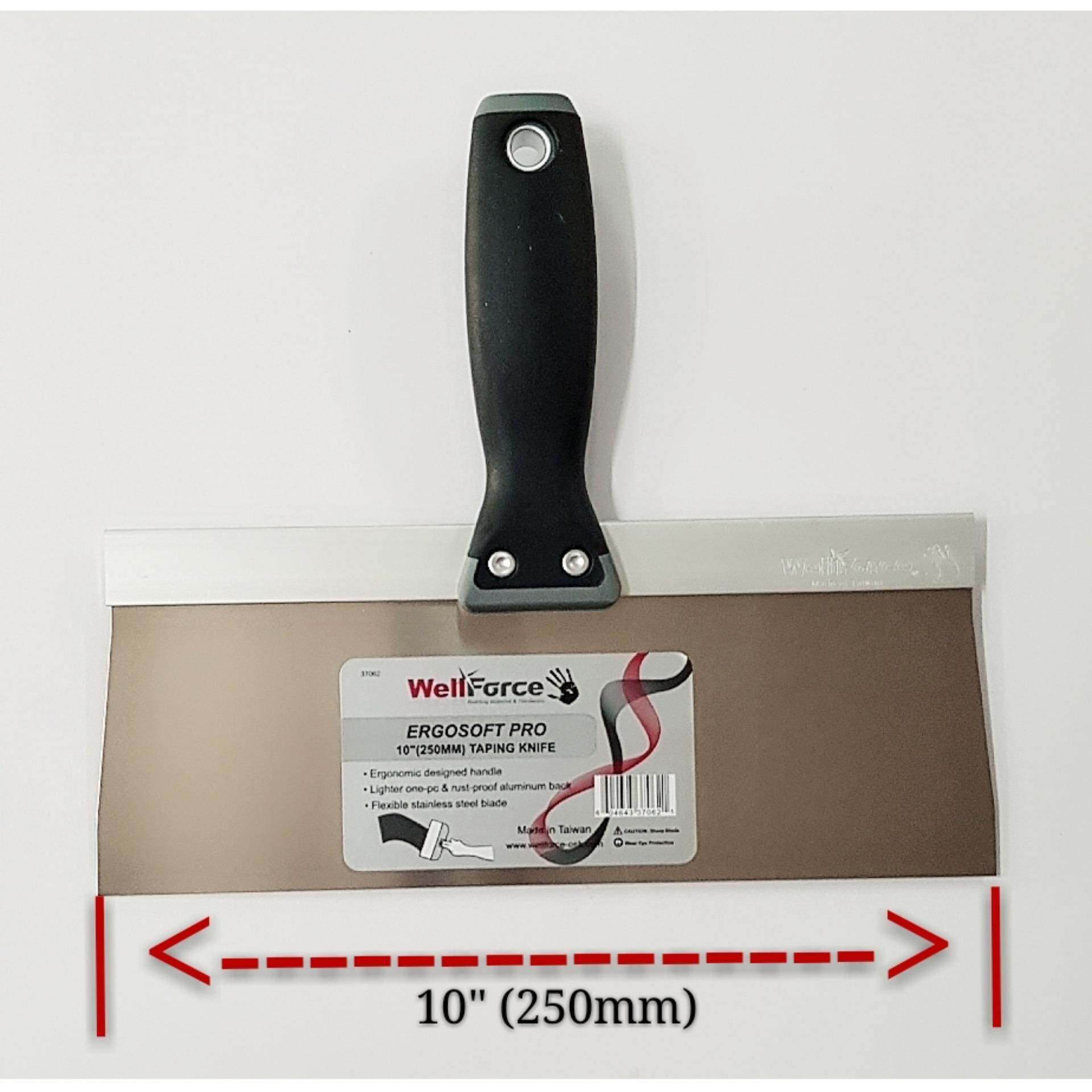 WellForce#37062 10(250Mm) Ergosoft Taping Knife (S/STEEL)