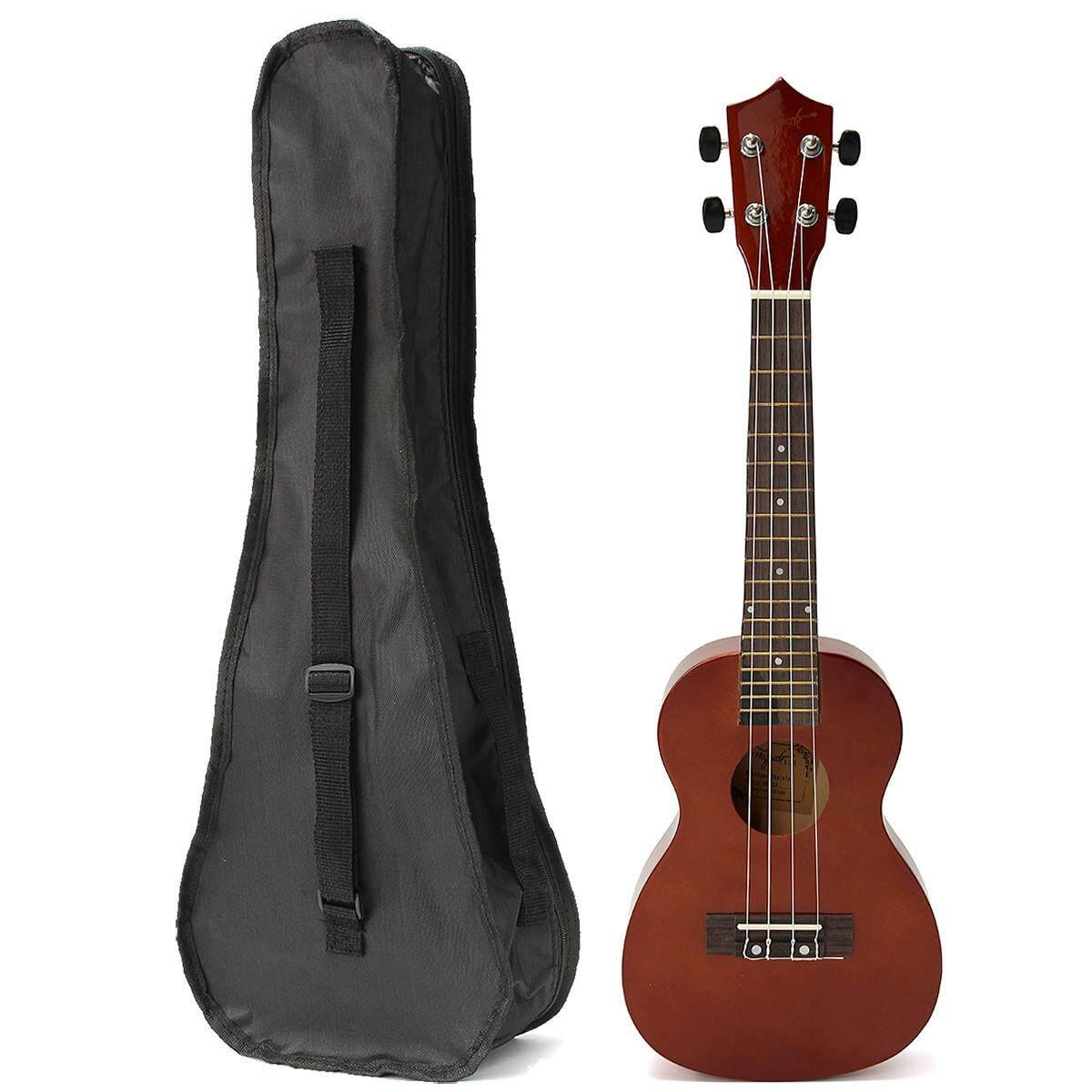 23 Inch Đàn Ukulele Uke Buổi Hòa Nhạc Guitar Gỗ Hồng Sắc Nhiều Màu Sắc Hawaii Âm Có Túi Đựng