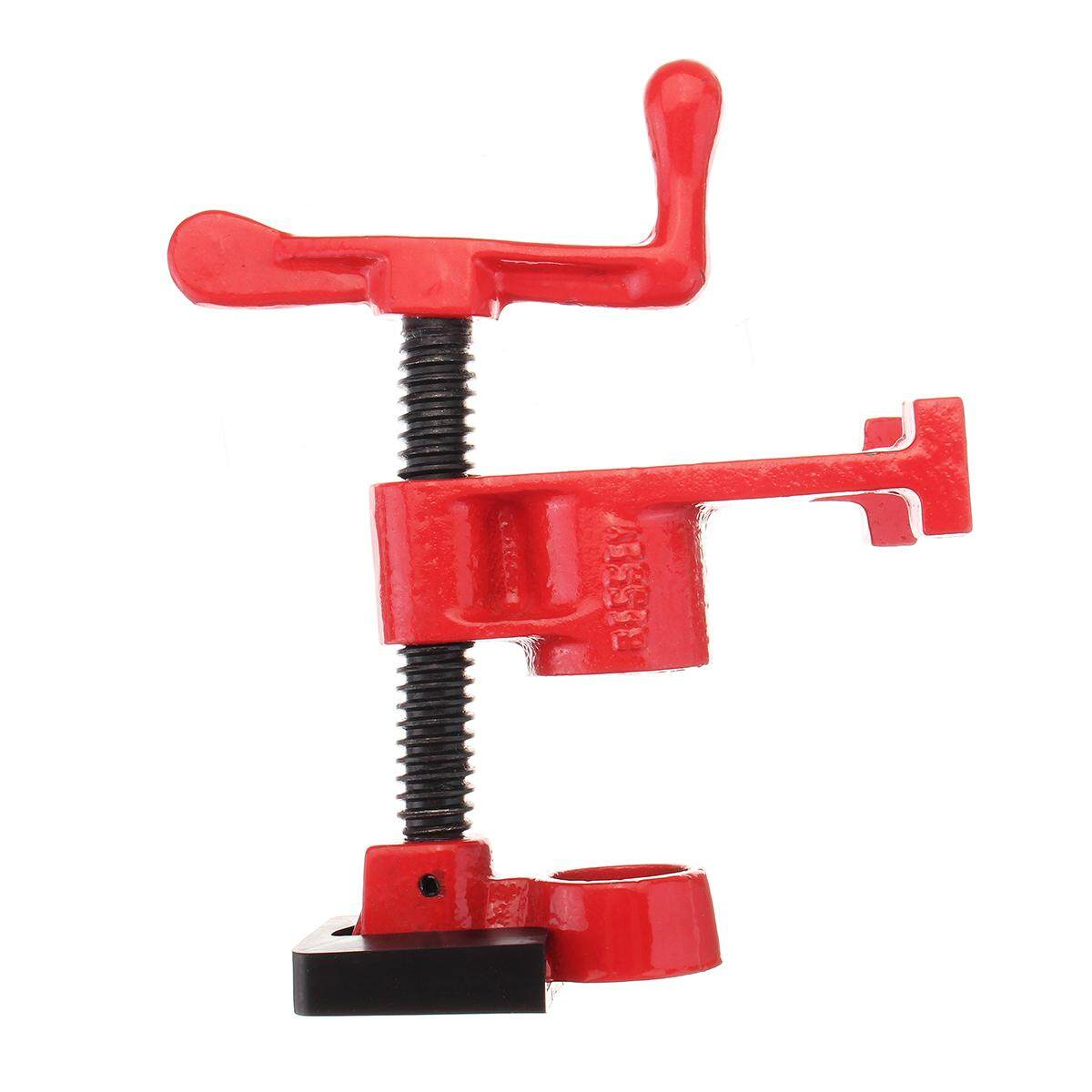 1/2 Heavy Duty Gluing Pipe Clamp Woodworking Vice Hand Tools Cast Iron
