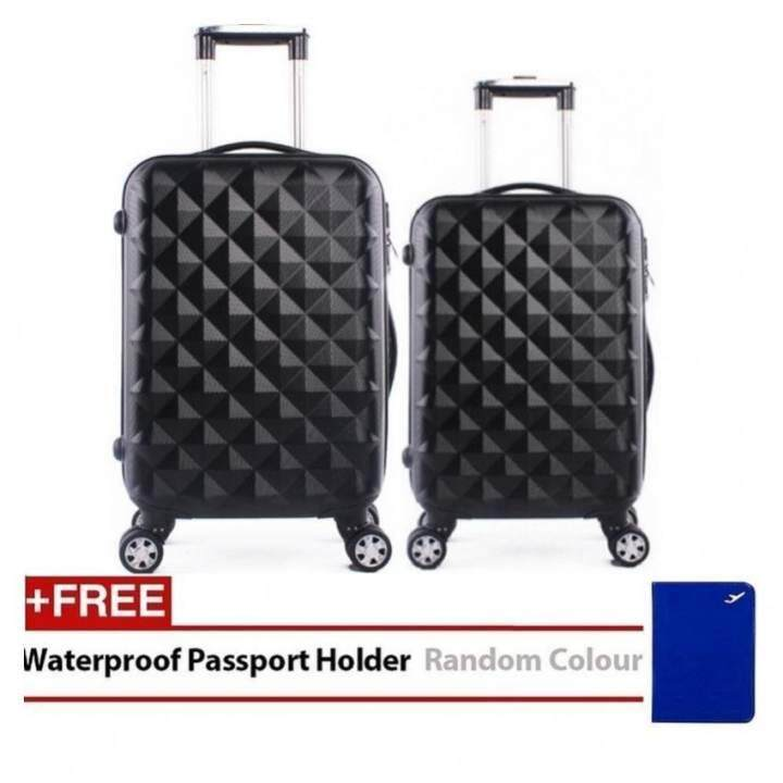 Travel Star SD Series 2 in 1 Luggage Bagasi Set