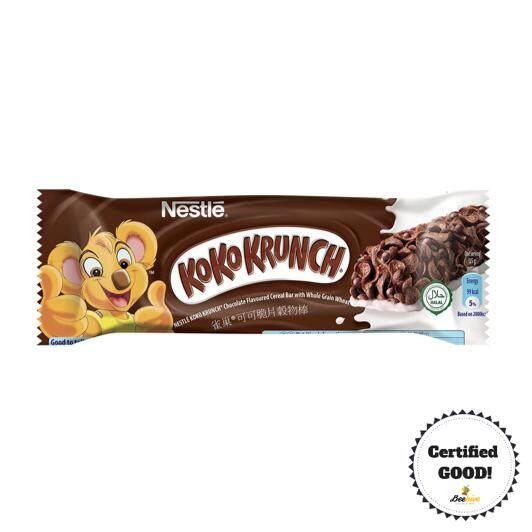 Nestle Koko Krunch Whole Grain Wheat Cereal Bar 25gx6