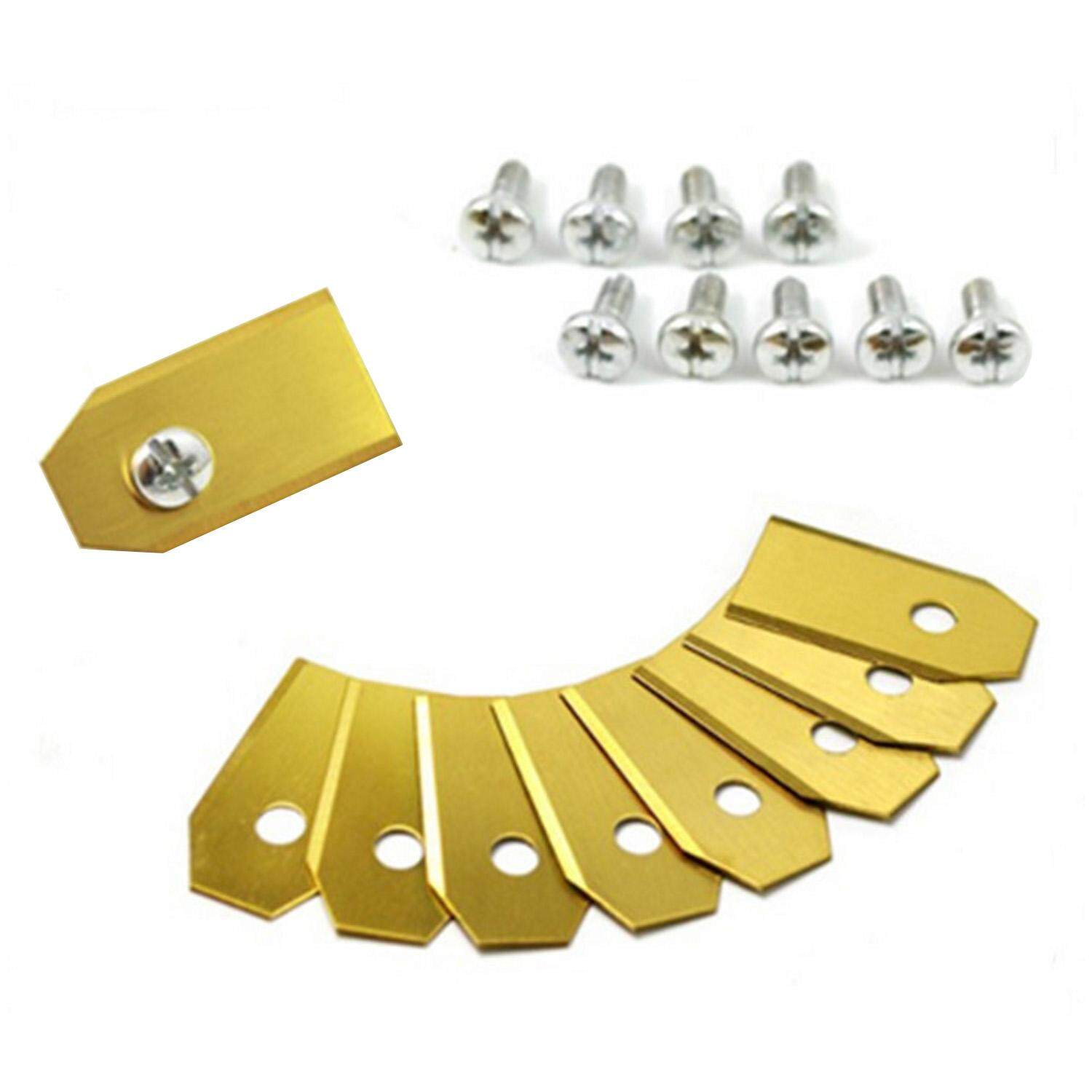 30pcs Anti Rust Stainless Steel Garden Mower Replacement Blade with Screws for Husqvarna Automower Gold