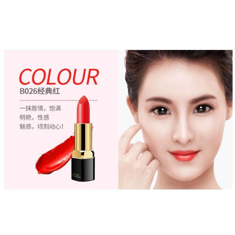 【B026 Klasik Red】lipstick Tidak Pudar Pelembab Non-Stick Cup Lipstik Pelembab Mahasiswa Wanita Hamil Dapat Dimakan Menggigit Lipstik Jeruk Paket Lipstik -Mewarnai Non-Dekolorisasi-Intl