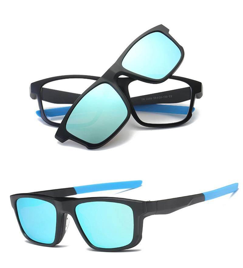 f29b8d2d81a JOSEJINN Magnet Clip On Polarized Sunglasses Men Women HD Polarized Goggles  Eyeglasses TR90 Myopia Glasses Frame