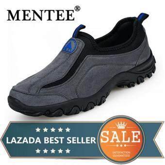 Harga Penawaran Mentee Ukuran Besar 39-46 Anti-Skid Slip-On Sepatu Mendaki Sepatu Jalan Luar Ruangan Sepatu Mendaki Nyaman Non-slip sepatu Pria discount ...