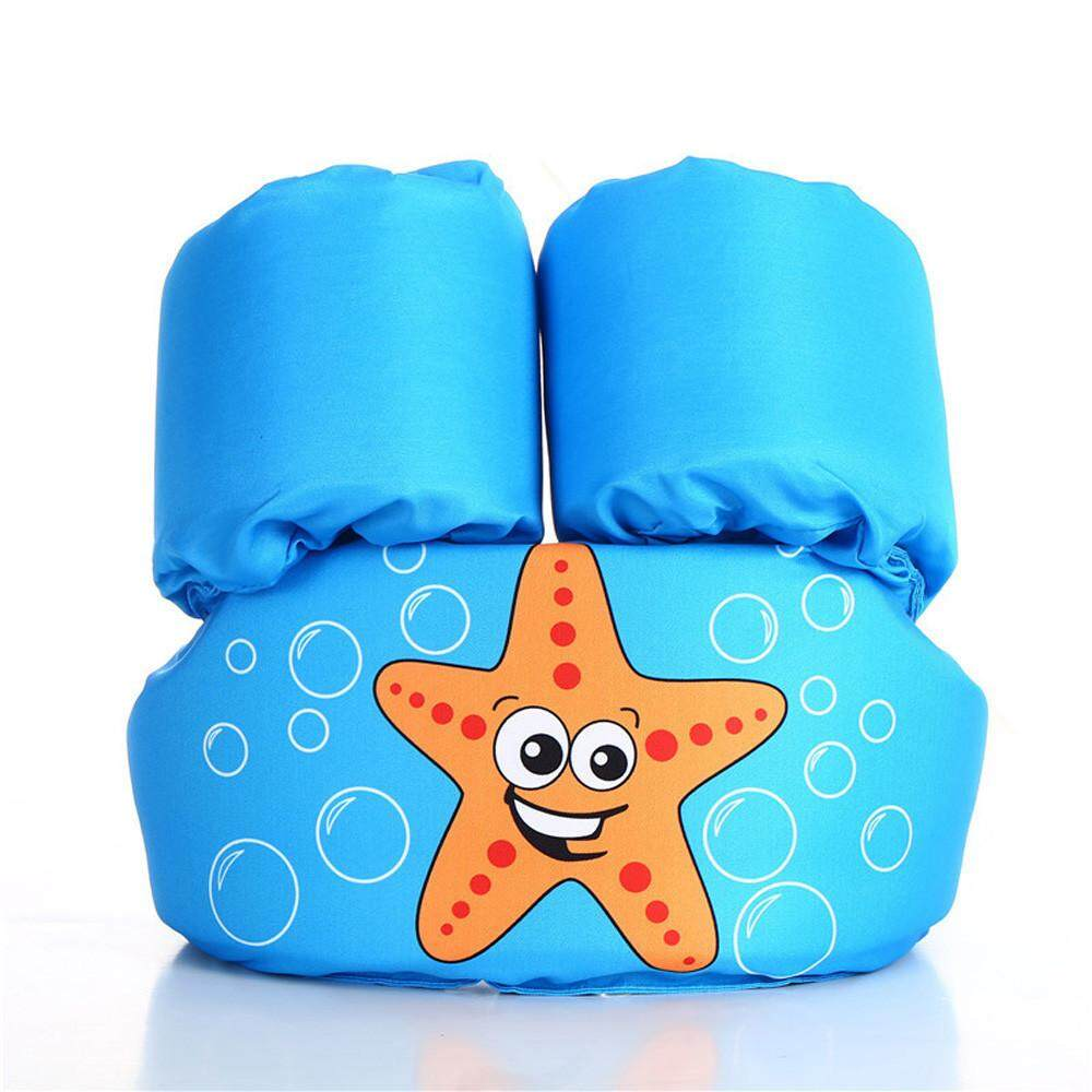 Free Shipping Children Kids Baby Float Arm Swimming Cartoon Life Float Jacket Safety Vest By Myositishome.
