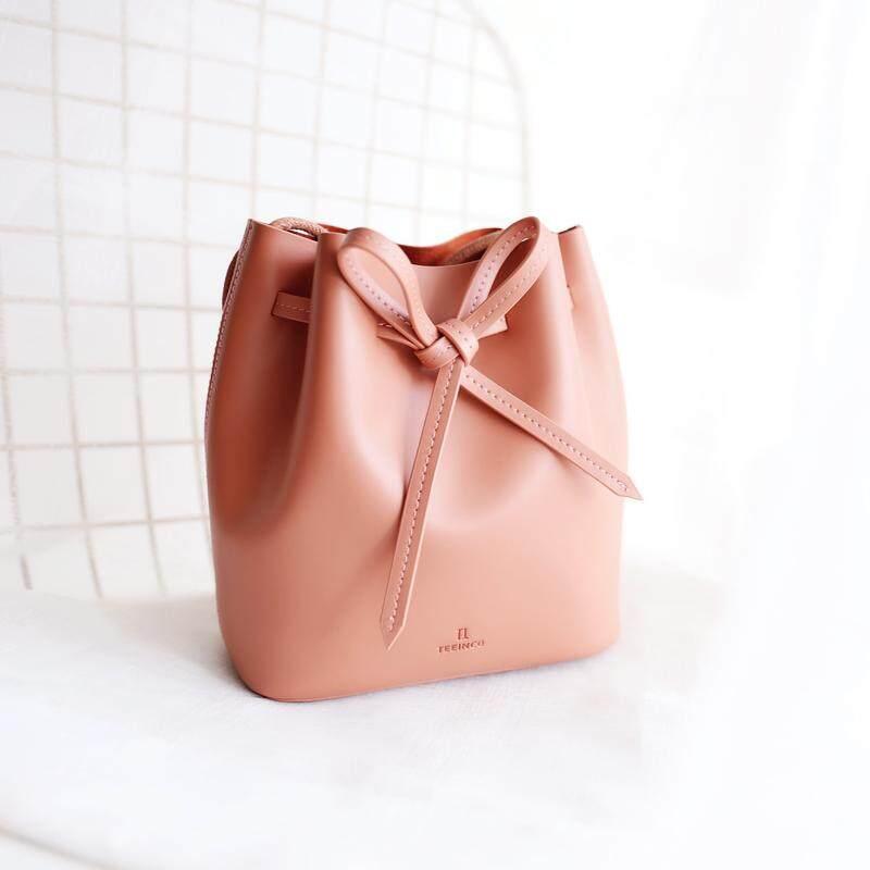 TENNCO asli model musim semi dan musim panas Gaya Korea minimalis angin kulit sapi Dasi kupu