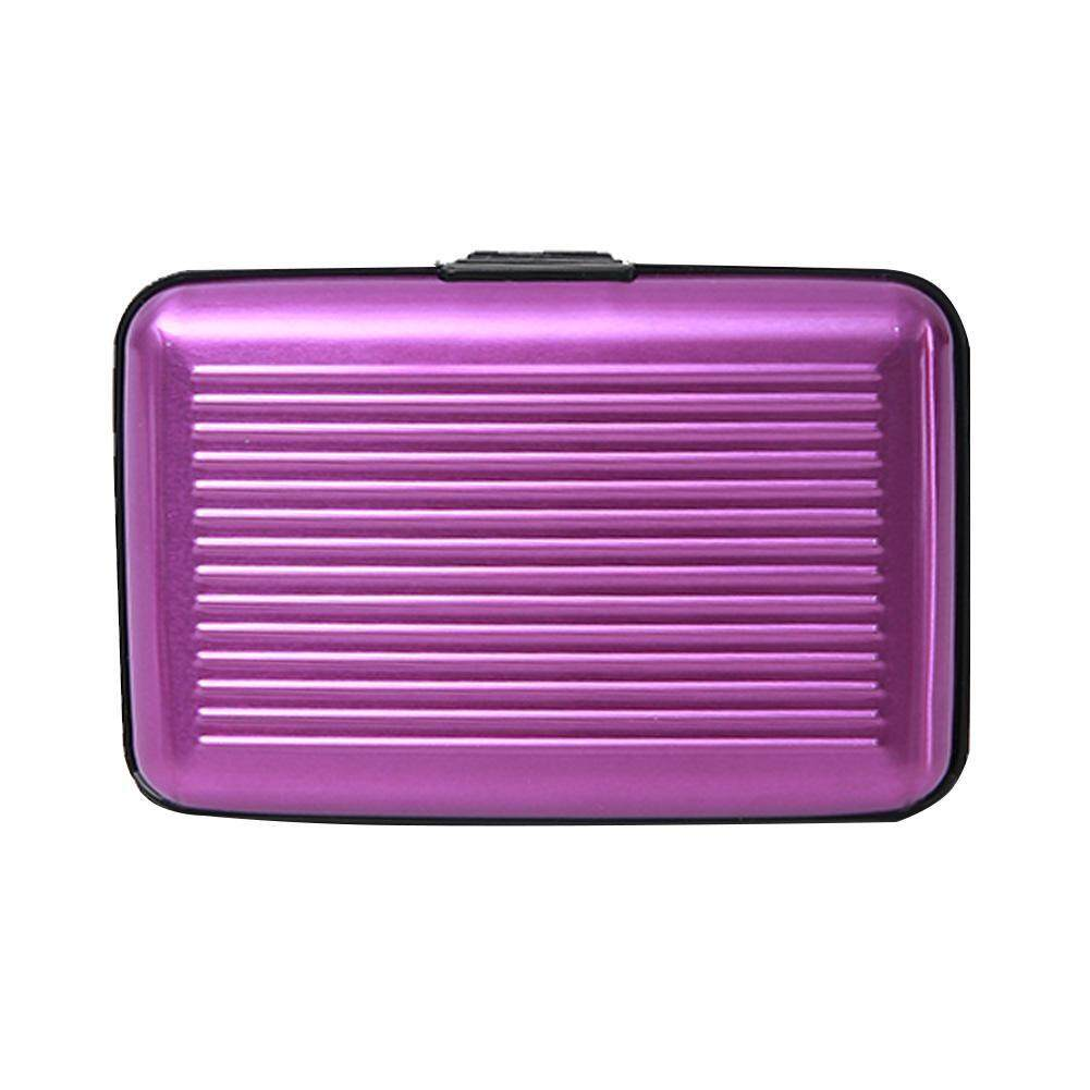 Fashion Unisex Women Men Waterproof Mini Trolley Bag RFID Business Card Box