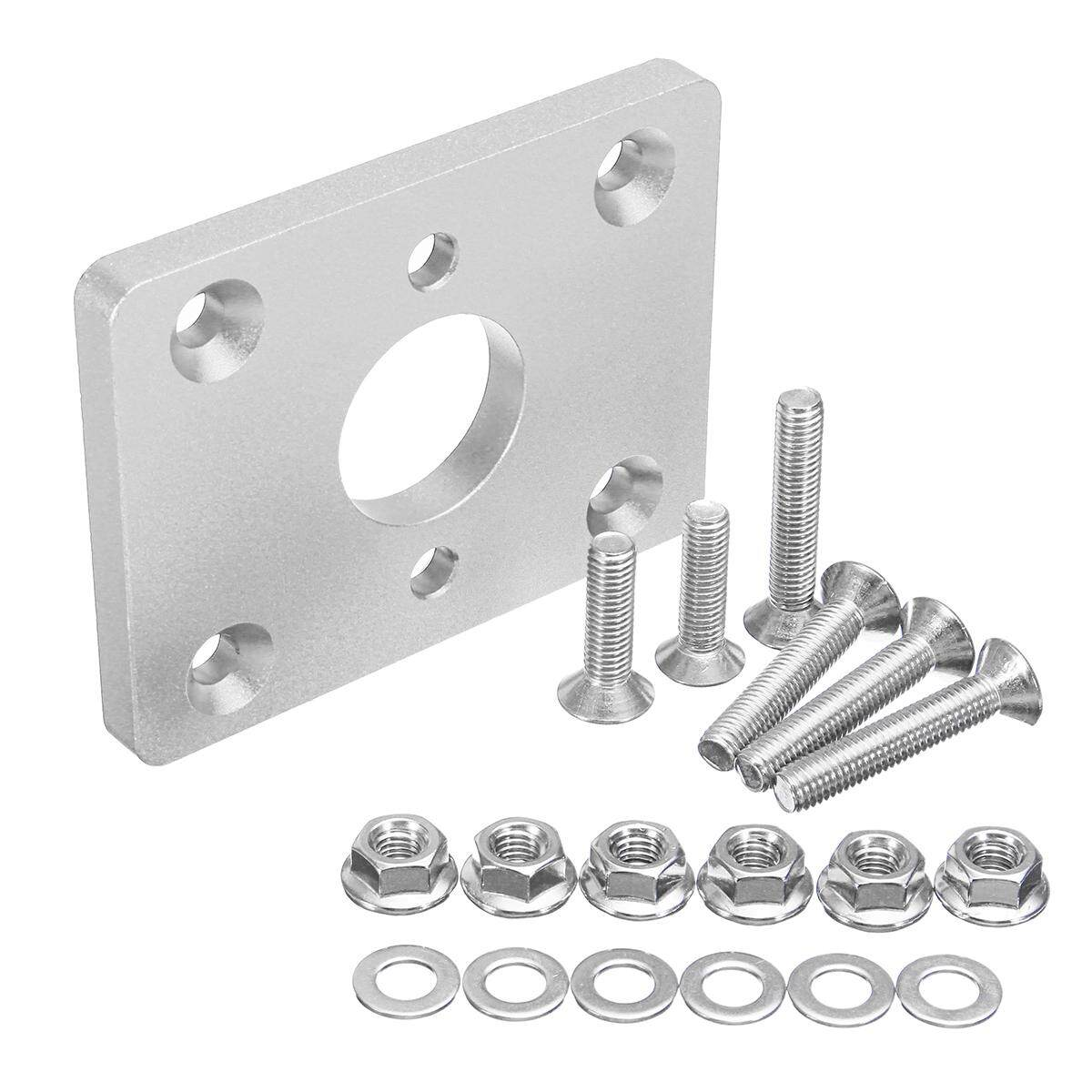 CNC Aluminum Brake Booster Delete Adapter Plate For Honda Civic Aaura  Integra Silver