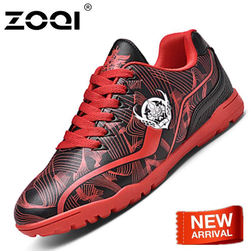 ZOQI Indoor Soccer Boots High Ankle Men Sports Football Shoes Sneakers cleats  shoes For Child c33b0f25e