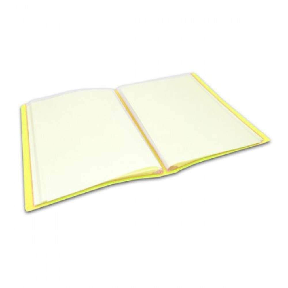 CBE 76060 Clear Holder A4 size - Yellow (Item No: B10-12 Y) A1R5B18