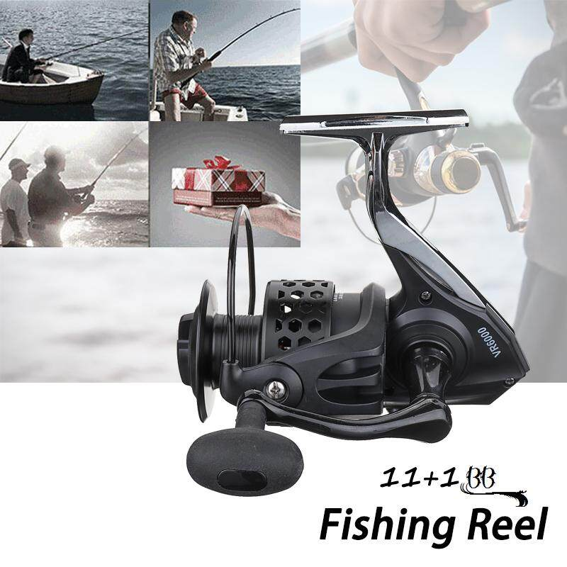 11+1BB Spinning Fishing Reel Metal Foot Base One-way Clutch 5.1:1 - intl