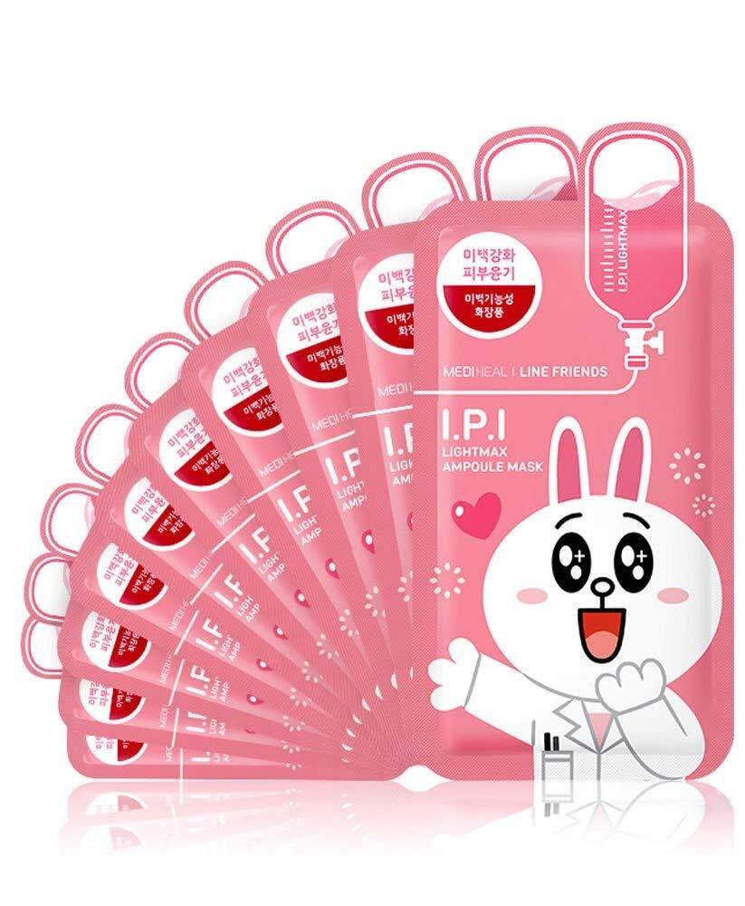 Mediheal Health Beauty Skincare Price In Malaysia Best Line Friends Ampoule Mask Glamor 36010pcs Ipi Lightmax