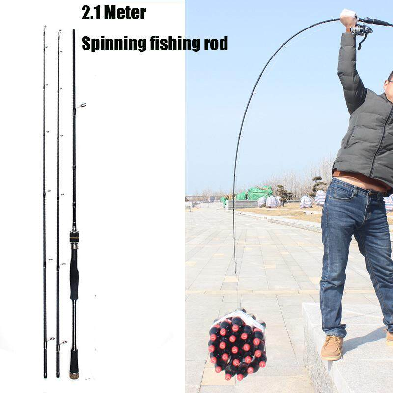 MH&H Action Carbon Fishing Rod 2&3 Section - intl