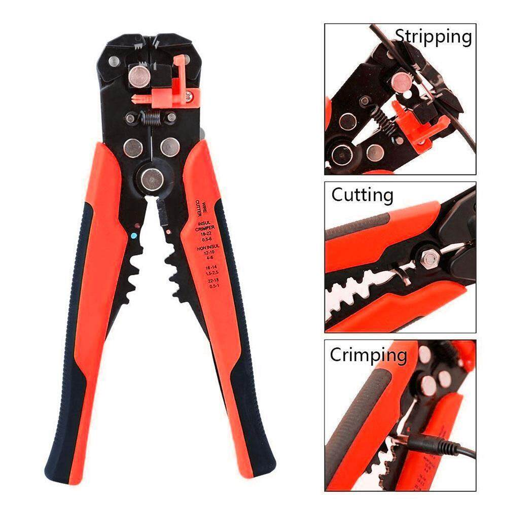 OutFlety Wire Stripping Tool Self-adjusting Cable Cutter Crimper Automatic Wire Stripper/ Cutting Pliers