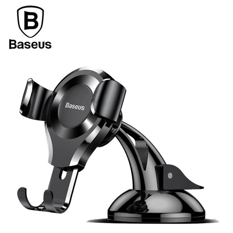 [ready Stock] Baseus Suction Cup Gravity Car Mount Holder For Iphone / Android Huawei Xiaomi Samsung Etc. By Tvc-Mall.