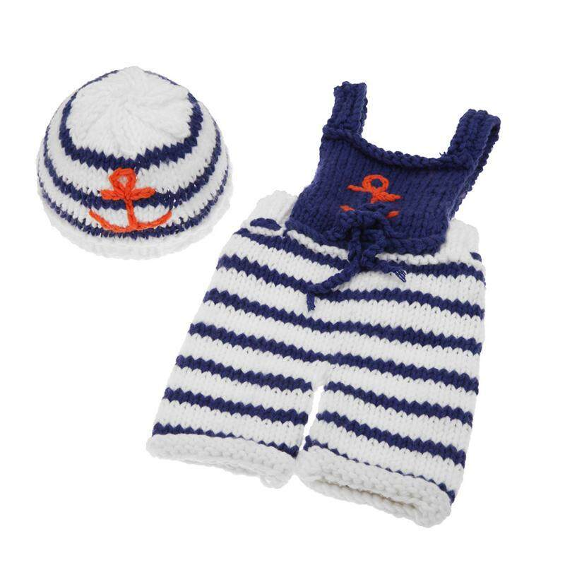 96ed8303030 Baby Cute Crochet Knit Costume Hat Prop Outfits Photo Newborn Baby  Photography Photo Props New born
